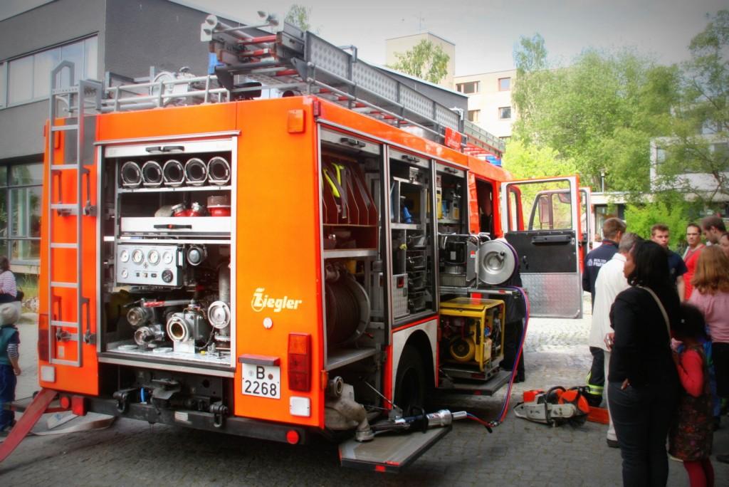 Löschfahrzeug Feuerwehr