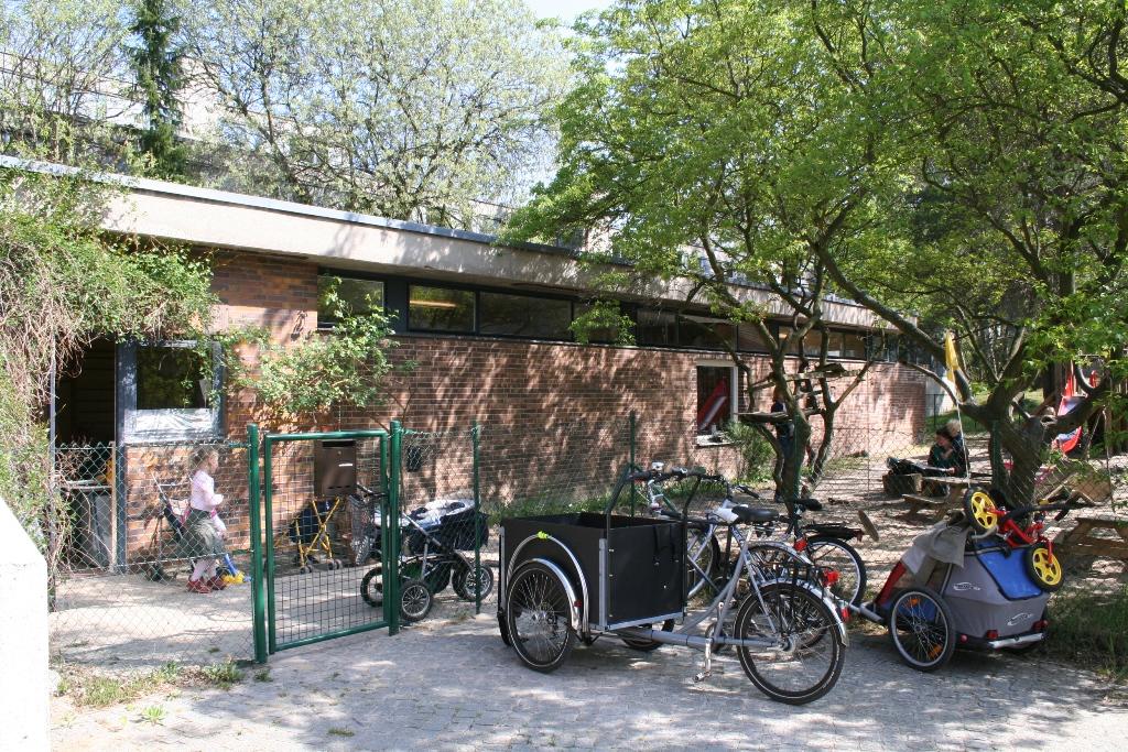 Kinderladen Zehlendorf im autofreien Studentendorf mit eigenem Garten